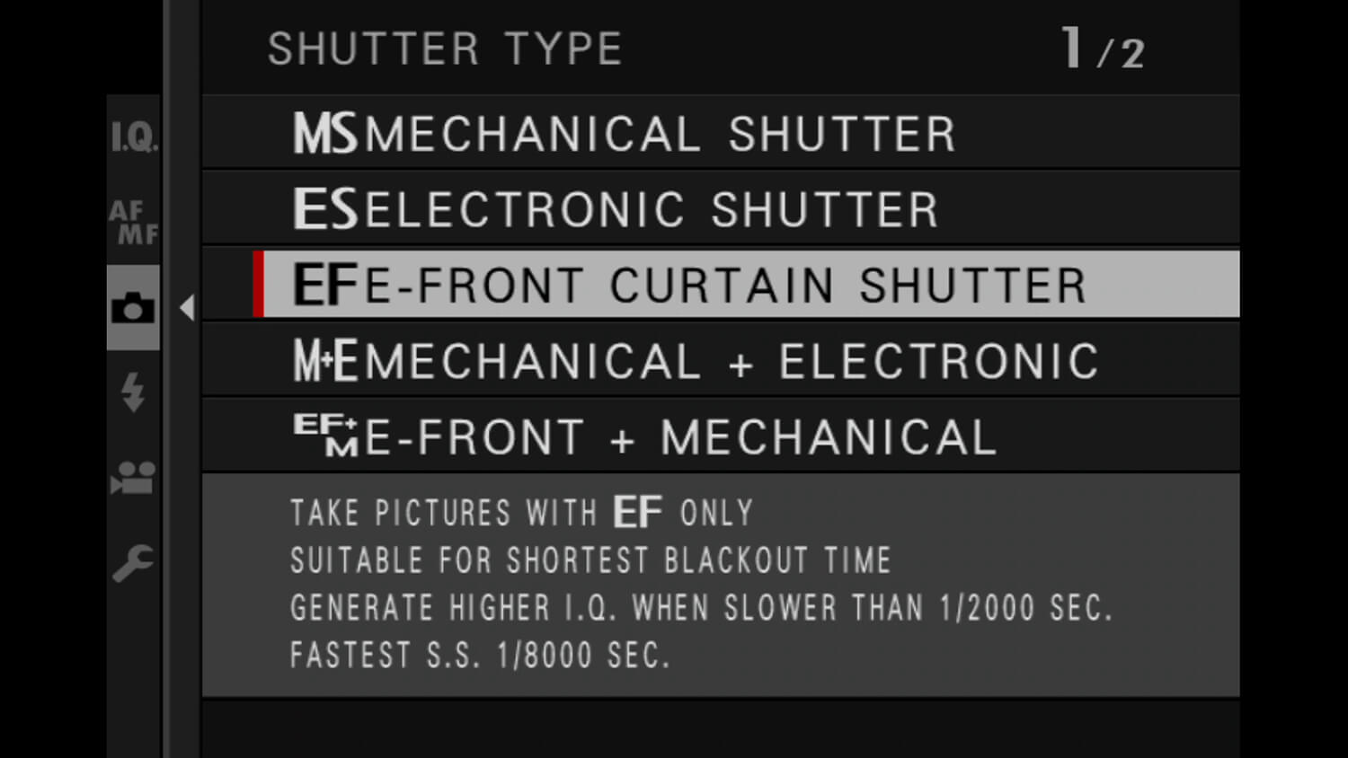 Learn photography with Fujifilm, Electronic vs Mechanical Shutter