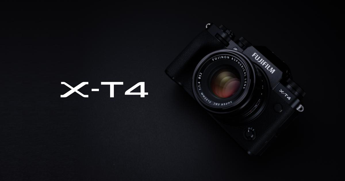 FUJIFILM X-T4 | Cameras | FUJIFILM X Series & GFX – Global