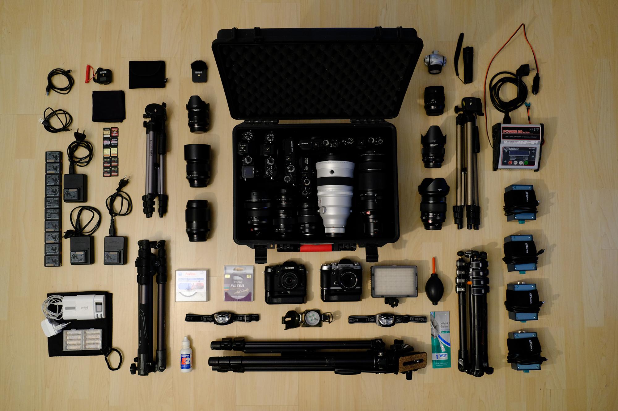 Ausrüstung des Astrofotografen Eugen Kamenew